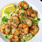 Shrimp & Scallops with Cauliflower Rice Risotto