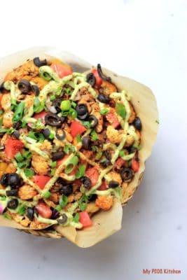 Keto Cauliflower Nachos