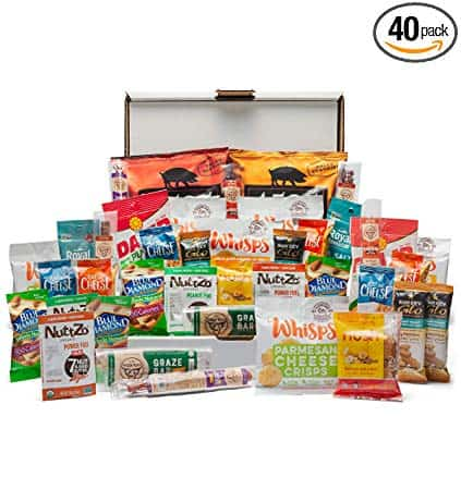 Keto Gifts Snacks Box - 40 Count