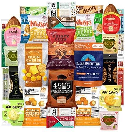 Keto Snacks Box - 30 Count