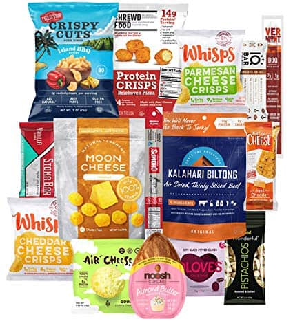 Keto Snacks Box - 15 Count
