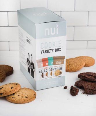 Nui Low Carb Cookies Variety Pack