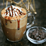 Close-up of Keto Hot Chocolate