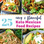 keto mexican food recipes Pinterest