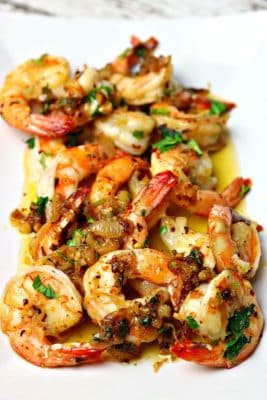 Shrimp Scampi Keto Style