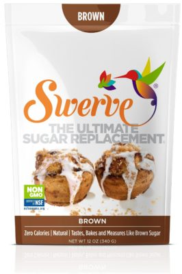 A bag of Swerve brown sugar replacement