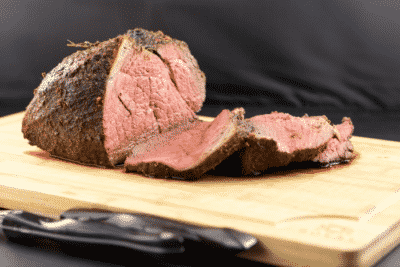 BAKED SIRLOIN ROAST WITH HERB RUB