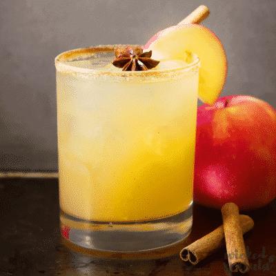 Fall Apple Cider Margarita