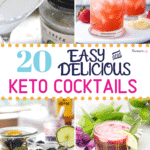 Keto Cocktails recipes Pinterest image