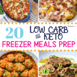 Keto Frozen Meals Recipes Pinterest image