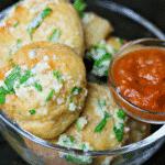 Keto Parmesan Garlic Bread Bites