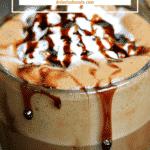 Pinterest image for Keto Hot Chocolate