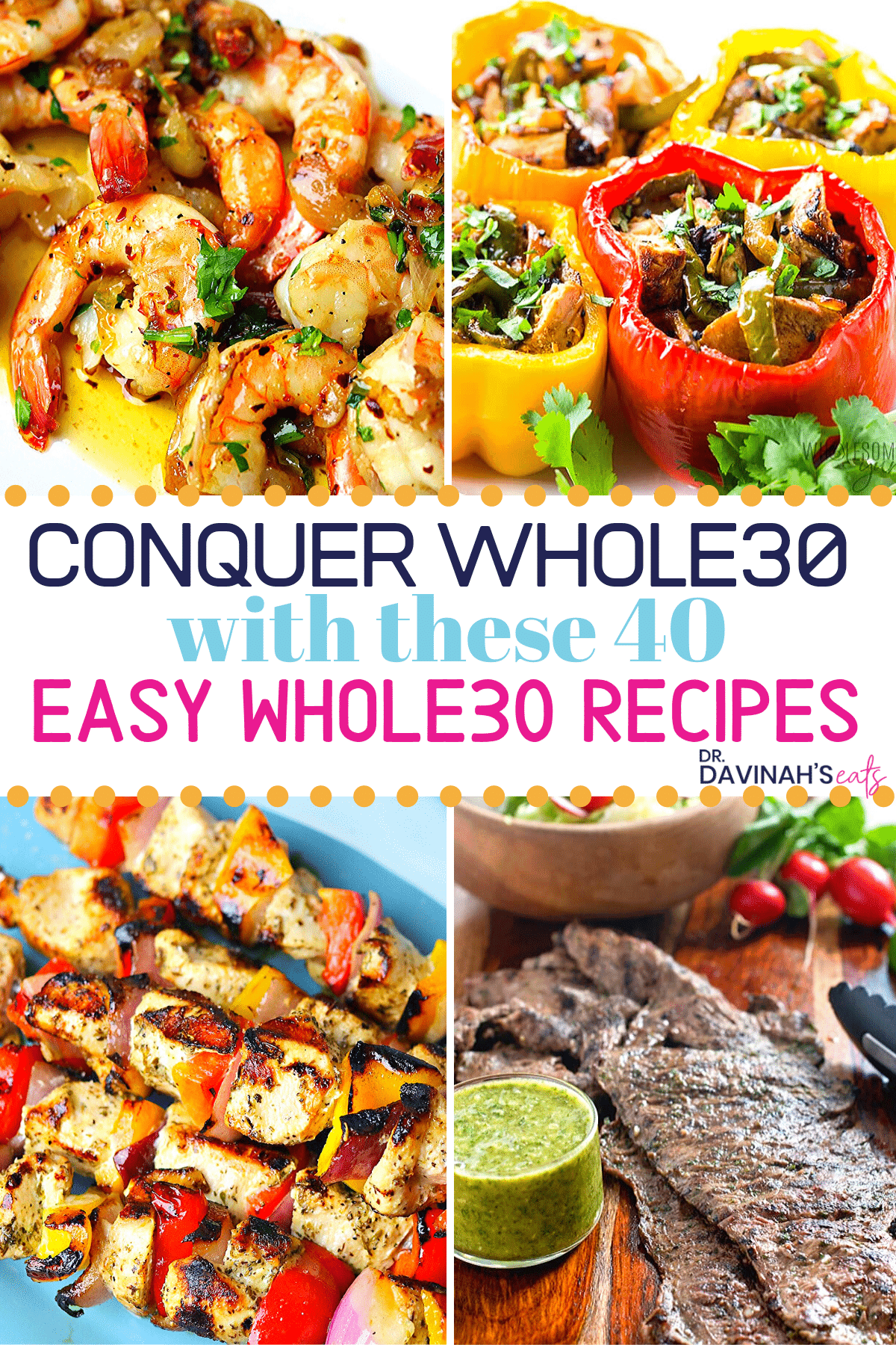 pinterest image for Whole30 recipes
