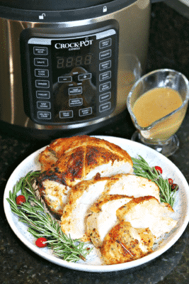 Sliced Turkey Breast on a plate