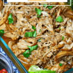 pinterest image for slow cooker pork roast
