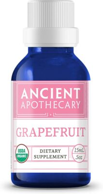One bottle of Ancient Apothecary Grapefruit Essential Oil