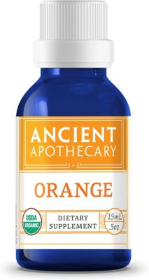 One bottle of Ancient Apothecary Orange Essential Oil