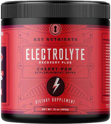 One container of Elecrolyte Cherry-Pom Hydration Supplement