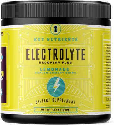 One container of Electrolyte Lemonade Hydration Supplement