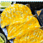 pinterest image for Cheese Taco Shells