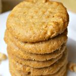 Pinterest image for Keto Peanut Butter Cookies