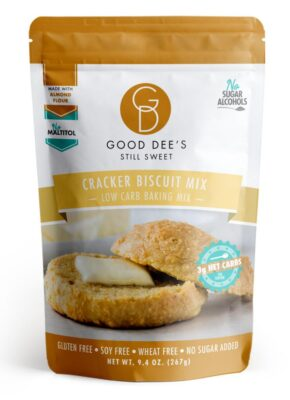 One package of Good Dee's Cracker Biscuit Mix